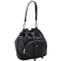 Небольшая сумка на затяжке CM3357 Черный