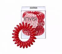 Набор резинок Invisibobble красные 3 шт (Качественная копия)