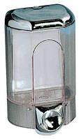Дозатор жидкого мыла, пластик хром 1,1л Acqualba 563C