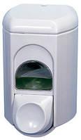 Дозатор жидкого мыла, пластик белый 0,35л Acqualba 561WIN