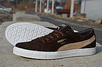 Мужские замшевые кроссовки Puma