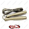 Скакалка скоростная с подшипником и PVC жгутом FI-5105 бронзовая (l-2,8м, d-5мм)