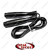 Скакалка скоростная с подшипником и PVC жгутом FI-5105 черная (l-2,8м, d-5мм)