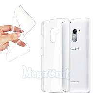 Прозрачный силиконовый чехол для Lenovo A7010 (X3 Lite) / K4 Note