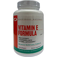 Витамины Universal Nutrition Vitamin E Formula (100 softgels)