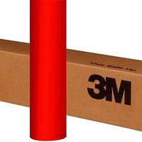 Красная матовая пленка металлик 3M 1080 Matte Red Metallic, фото 1