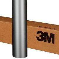 Светло серая матовая плёнка 3M 1080 Matte Silver