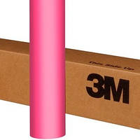 Розовая матовая пленка 3M 1080 Matte Hot Pink, фото 1
