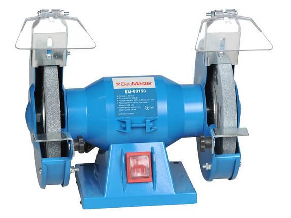 Точильный станок 150 мм, 200 Вт BauMaster BG-60150, фото 2
