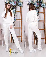 Женский повседневный костюм на завязках в расцветках d-t3110549