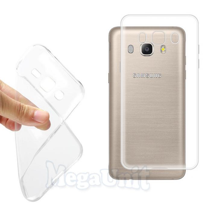 Прозрачный силиконовый чехол для Samsung J510 Galaxy J5-2016