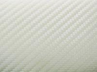 Пленка под карбон 3D 3M (Япония) Di-Noc СА-419 белая 1,22 м, фото 1
