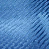 Пленка под карбон АРА (Италия) синяя 1,5 м, фото 1