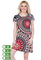 Женское платье летнее с узорами