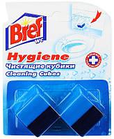 Чистящее средство для унитаза Bref Activ Hygiene, кубики, очищающие, 2*50г