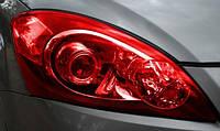 Пленка для тонирования оптики красная глянцевая, фото 1