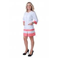 Модный, современный, медицинский халат, заказ - пошив