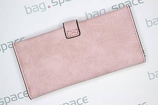 Кошелек женский Howru Fashion Mini, розовый (пудровый), фото 2
