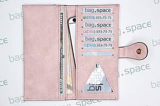 Кошелек женский Howru Fashion Mini, розовый (пудровый), фото 3