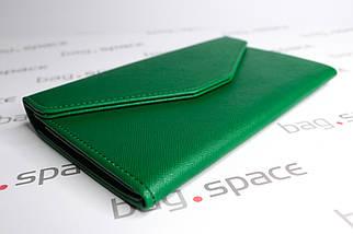 Кошелёк женский Tripping Clutch Selena, тёмно-зелёный, фото 3