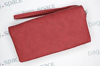 Кошелёк-клатч женский LBB Rome, красный, фото 3