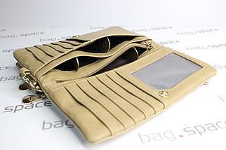 Кошелек-клатч женский LBB Rome, кремовый, фото 3