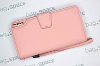 Кошелёк-клатч женский Hengsheng Business, розовый (пудровый)