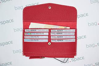 Кошелёк-конверт женский Piroyce Letter, красный, фото 3