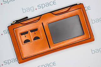 Кошелек женский Pidengbao Grace, оранжевый, фото 3