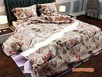 Двуспальный комплект постельного белья Голд