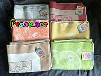 Теплое байковое одеяло 100% хлопок, цвет на выбор