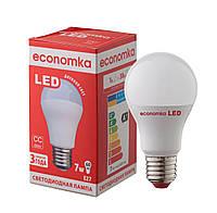 Светодиодная лампа Economka А60 LED 7W Е27 с СС-драйвером, 4200K