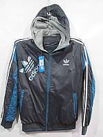 """Костюм спортивный мужской Adidas стильный с капюшоном Серии """" POWER """" размеры ХL-5XL, 2 цвета"""