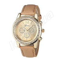 Женские часы Geneva Cristal со стразами