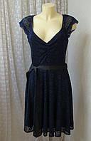 Платье красивое кружевное Morgan р.46-48 7496