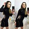 Женское модное платье с  люверсами , фото 2