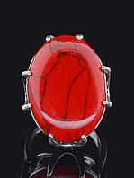 029446-170 Кольцо Коралл (серебро)