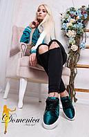 """Женские стильные мокасины на платформе """" Dsquared"""",2 цвета"""
