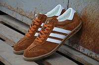 Мужские замшевые кеды кроссовки Adidas Hamburg
