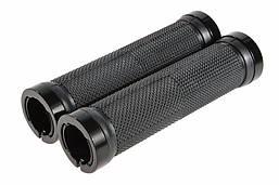 Велосипедные грипсы ROCKBROS с замками, ручки вело Black