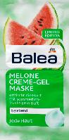 Крем-гель маска кавун Balea Creme-Gel Maske Melone, 16 ml