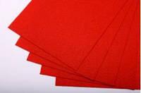 Фетр красный 40*50 см - 1мм