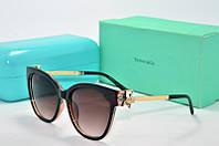 Солнцезащитные очки Tiffany коричневые