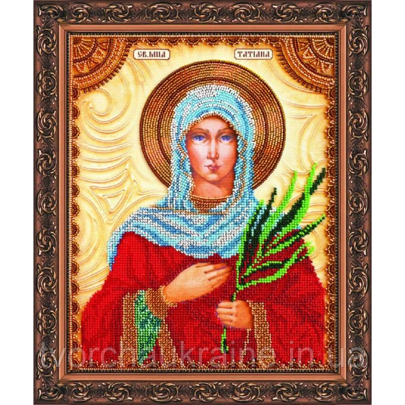Набор для вышивки бисером именной иконы «Святая Татьяна»