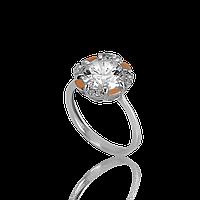 Серебряное кольцо ДИНАРА 925 пробы с накладками золота 375 пробы.Серебряное кольцо с золотой пластиной