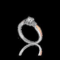 Красивое Серебряное КАРАТ кольцо 925 пробы с накладками золота 375 пробы.Серебряное кольцо с золотой пластиной