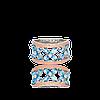 Серебряное кольцо ОЛИВИЯ 925 пробы с накладками золота 375 пробы.Серебряное кольцо с золотой пластиной