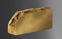 Облицовочный кирпич «Литос» «скала» угловой тычковой