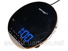 Часы с радио AM-FM YJ-382, часы электронные с радиоприемником, настольные часы-будильник, радиоприемник-часы