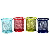 Стакан-подставка для кистей и пилок,  4 цвета